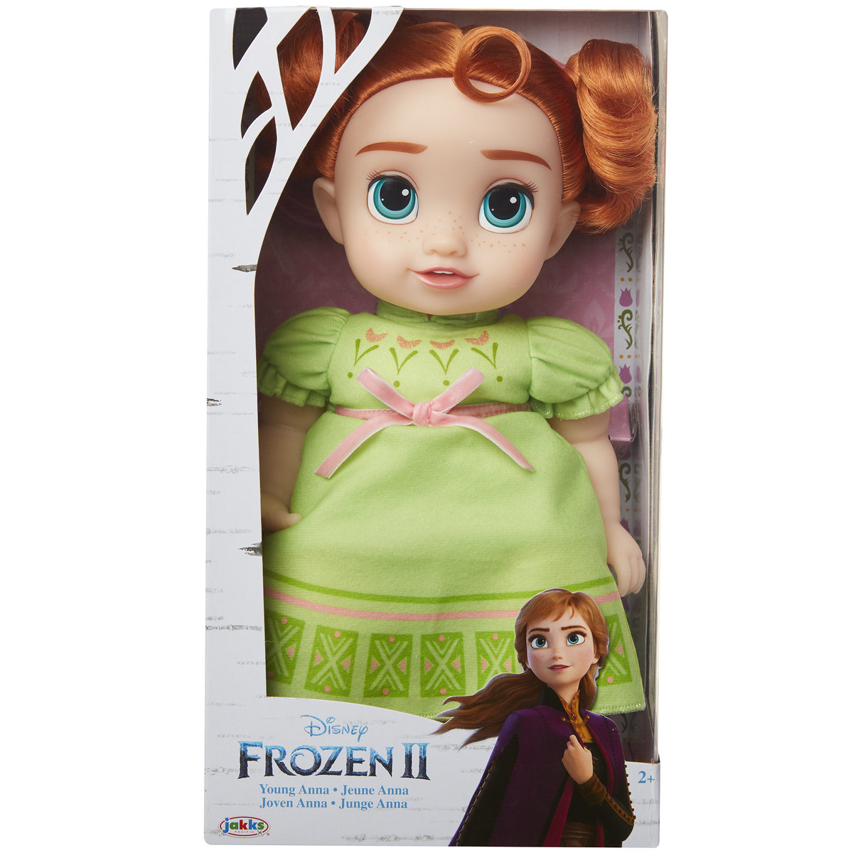 Disney Frozen 2: Non-feature Young Anna Doll (window box)(Licensed by Disney)