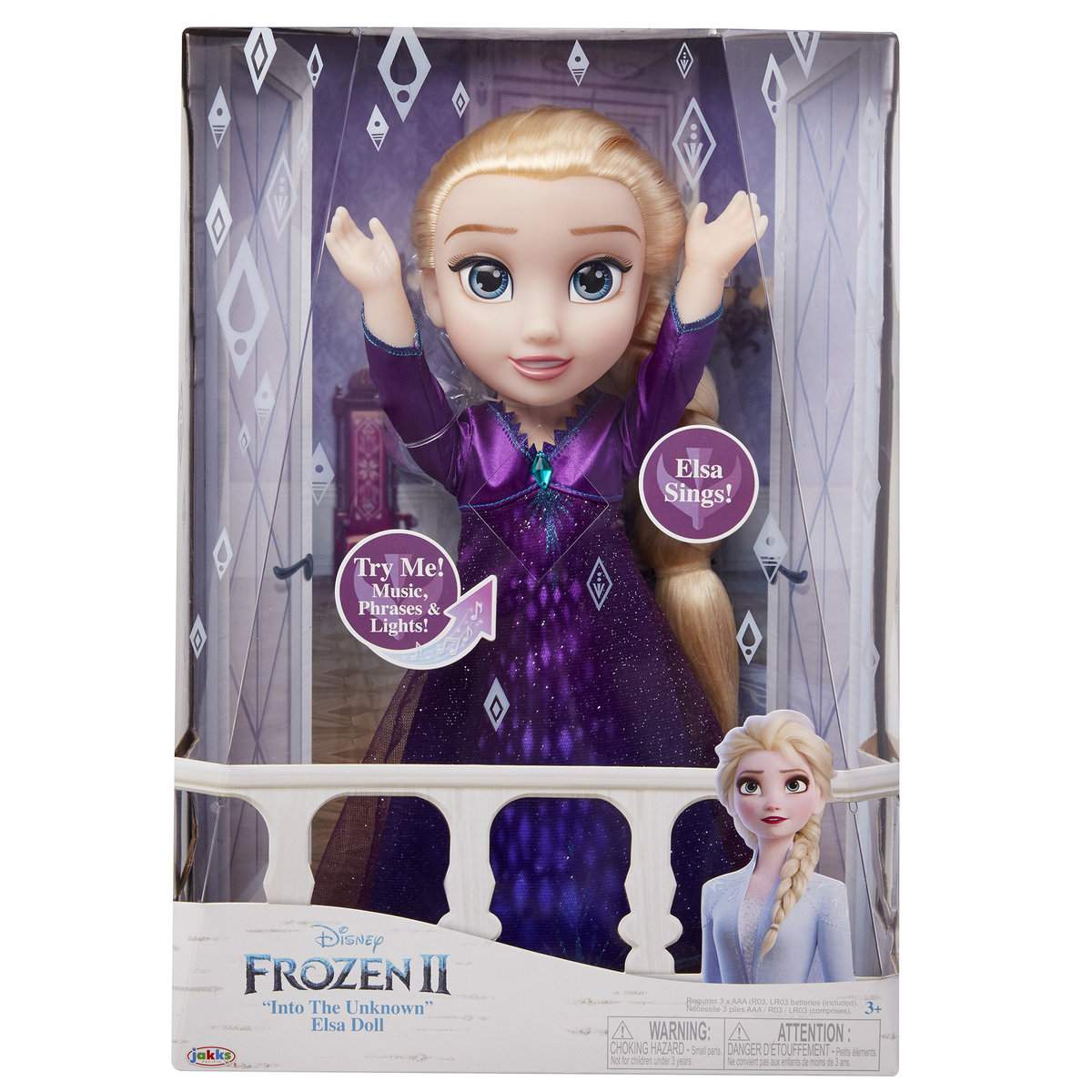 Frozen 2 Feature Elsa Doll [Licensed by Disney]