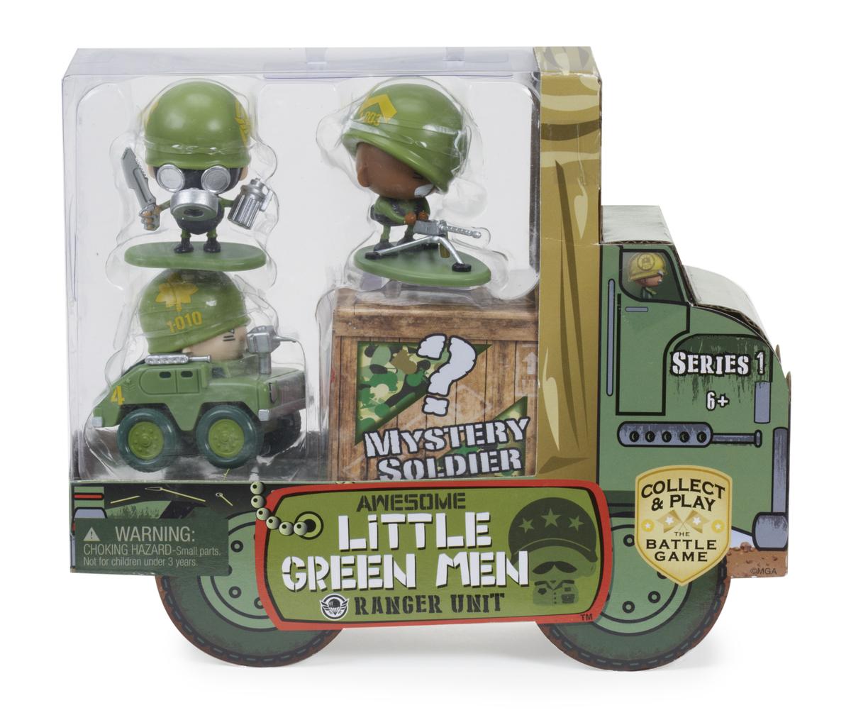 Awesome Little Green Men 4pcs Starter Pack [Random Style]