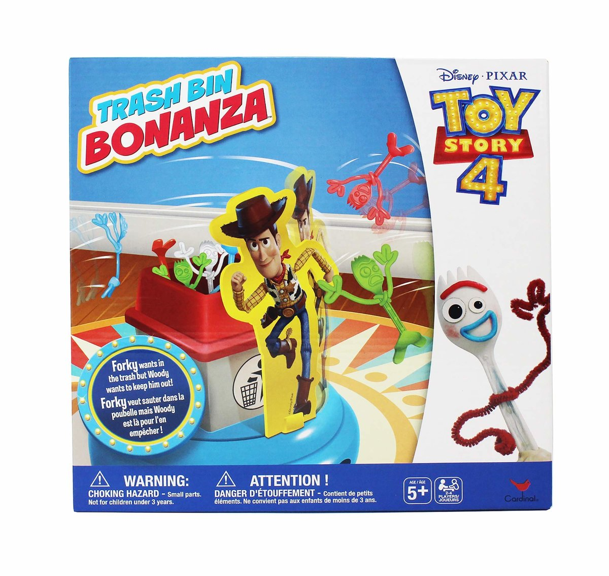 Toy Story 4 Flippin' Forky Game [Licensed by Disney]