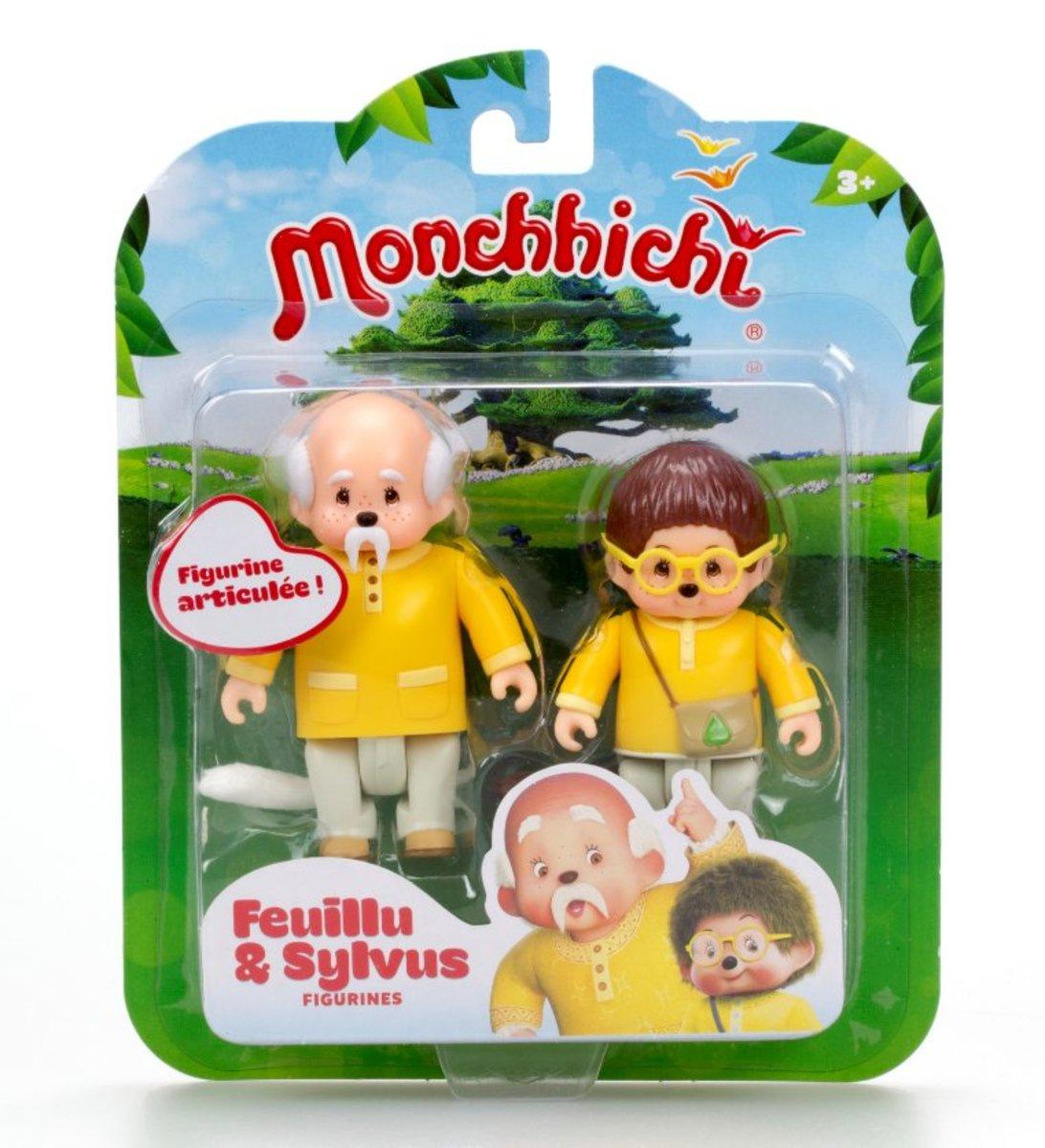 Monchhichi-Leafy & Sylvius Figurines
