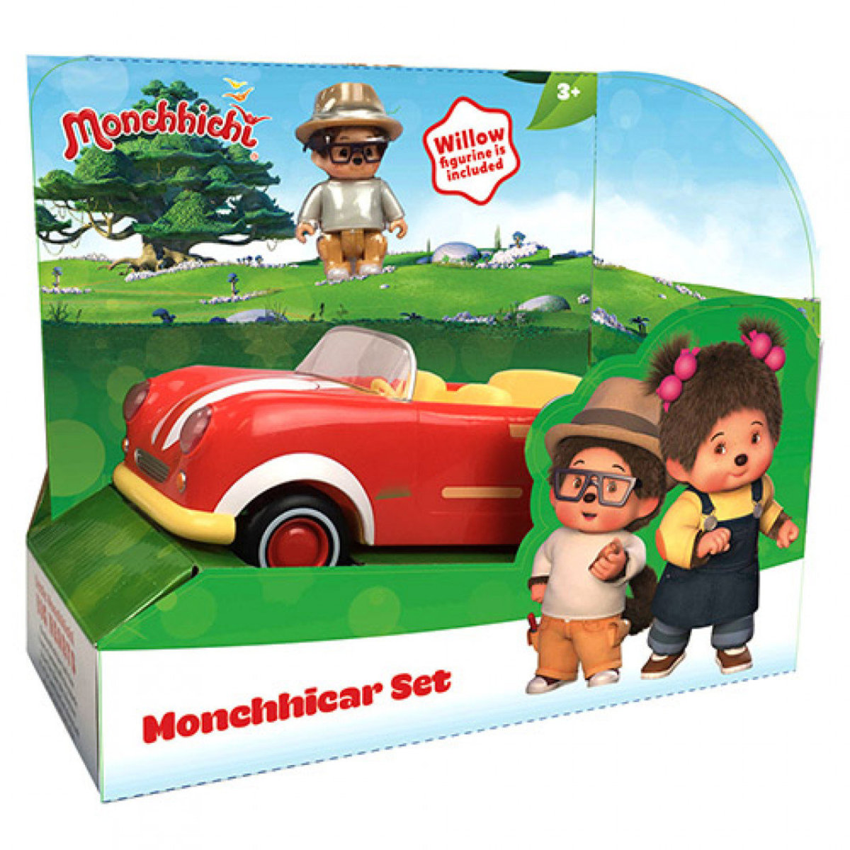 Monchhichi-Vehicle Free Wheel