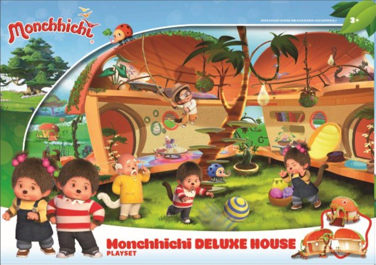 Monchhichi-Monchhichi House Playset Deluxe House