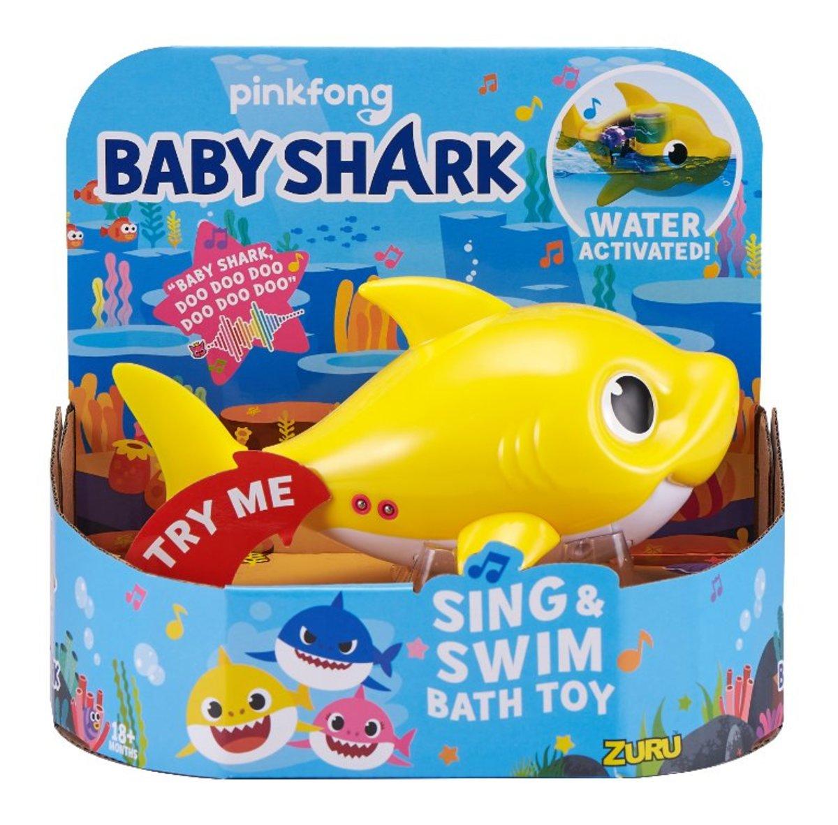 Robo Alive Junior Robotic Baby Shark [Random Style]