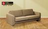 LIBRA II 5032 - 3-Seater Fabric Sofa (Light Brown)