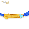 Baby Bear Collection: 999.9 Gold Chinese Enamel Bracelet (Boy)