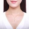 浪漫明珠系列: 999.9純金貝母淡水珍珠吊墜