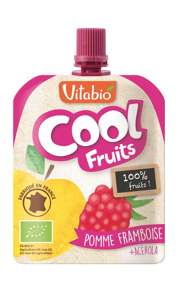 Organic Fruit Speciality - Raspberry, Banana, Apple