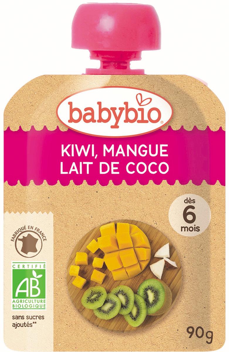 法國有機果蓉 - 奇異果, 芒果, 椰奶