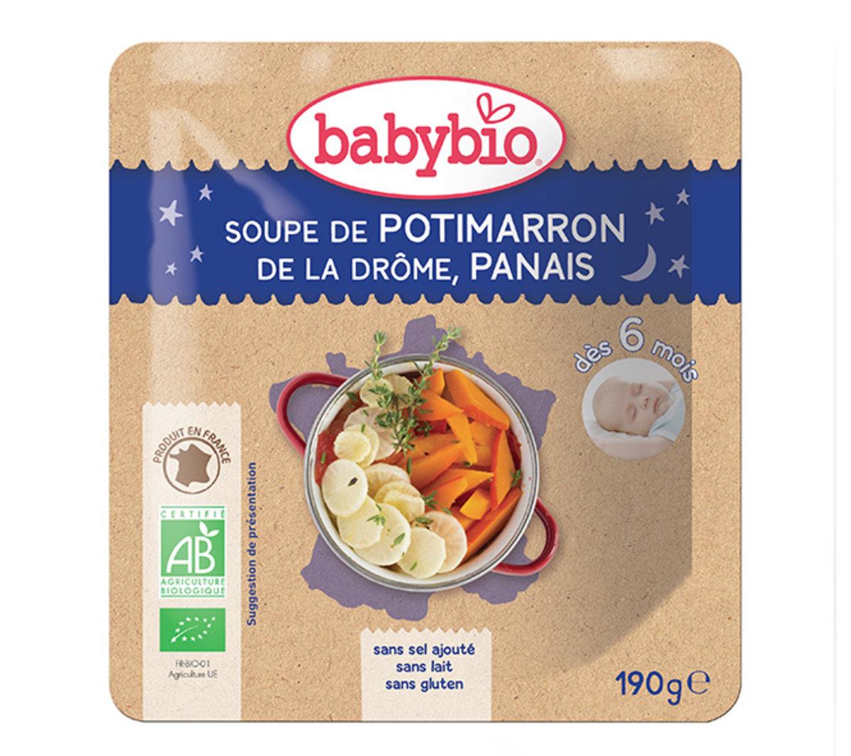 法國有機南瓜蘿蔔湯