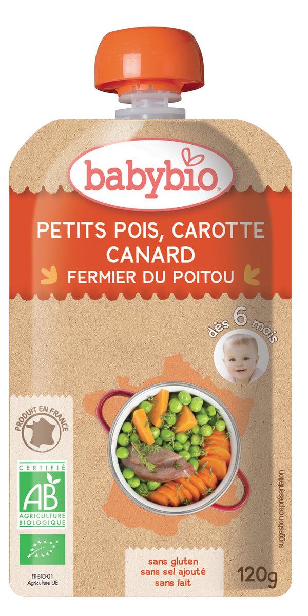 法國有機鴨肉及蔬菜