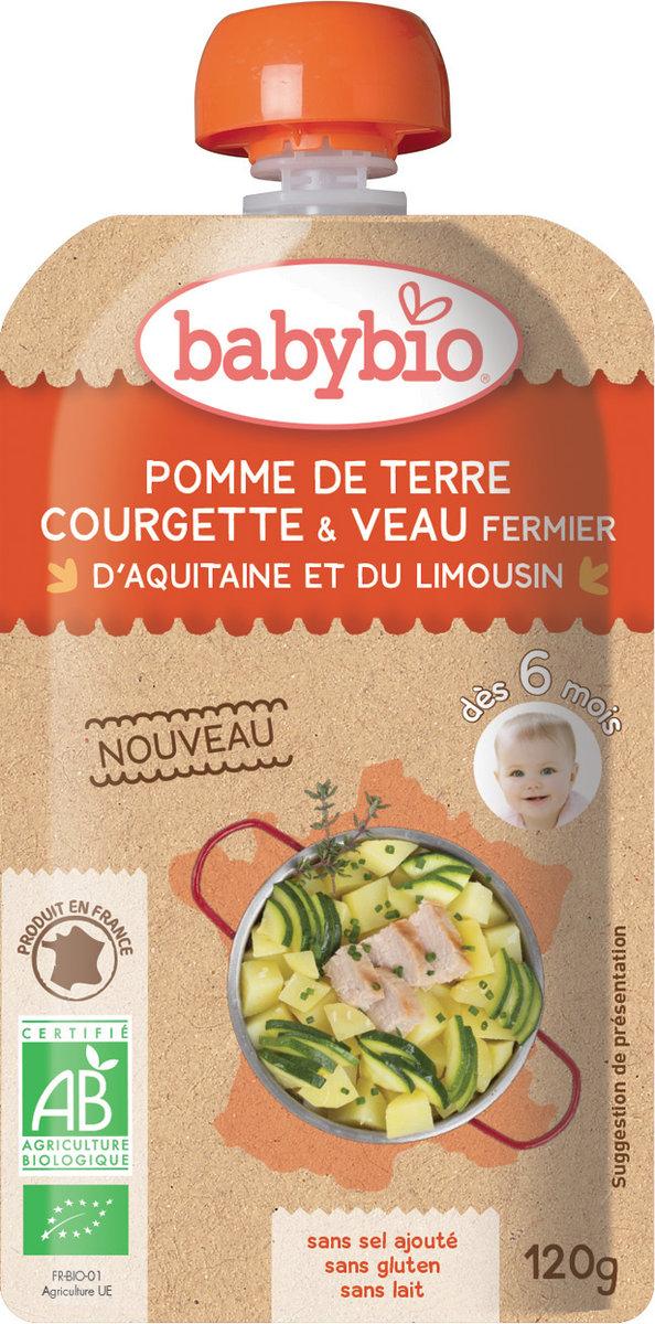 法國有機小牛肉及蔬菜