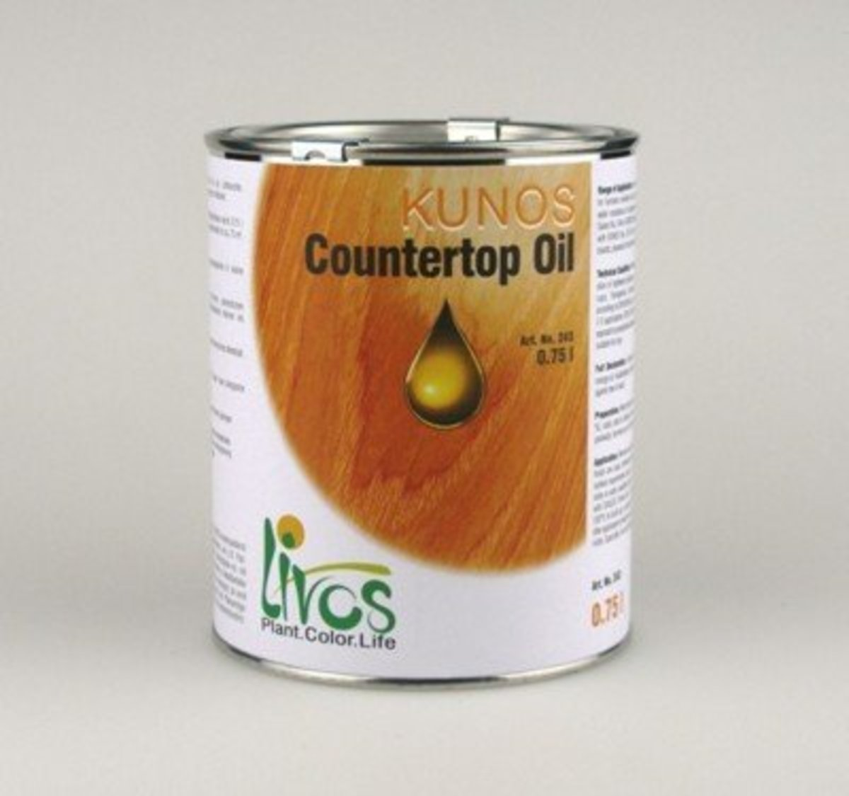 Kunos Countertop Oil 2.5L