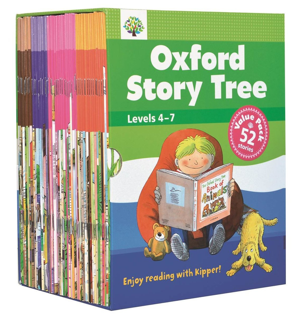 Oxford Story Tree Value Pack 2 (Levels 4-7)|52 本故事書