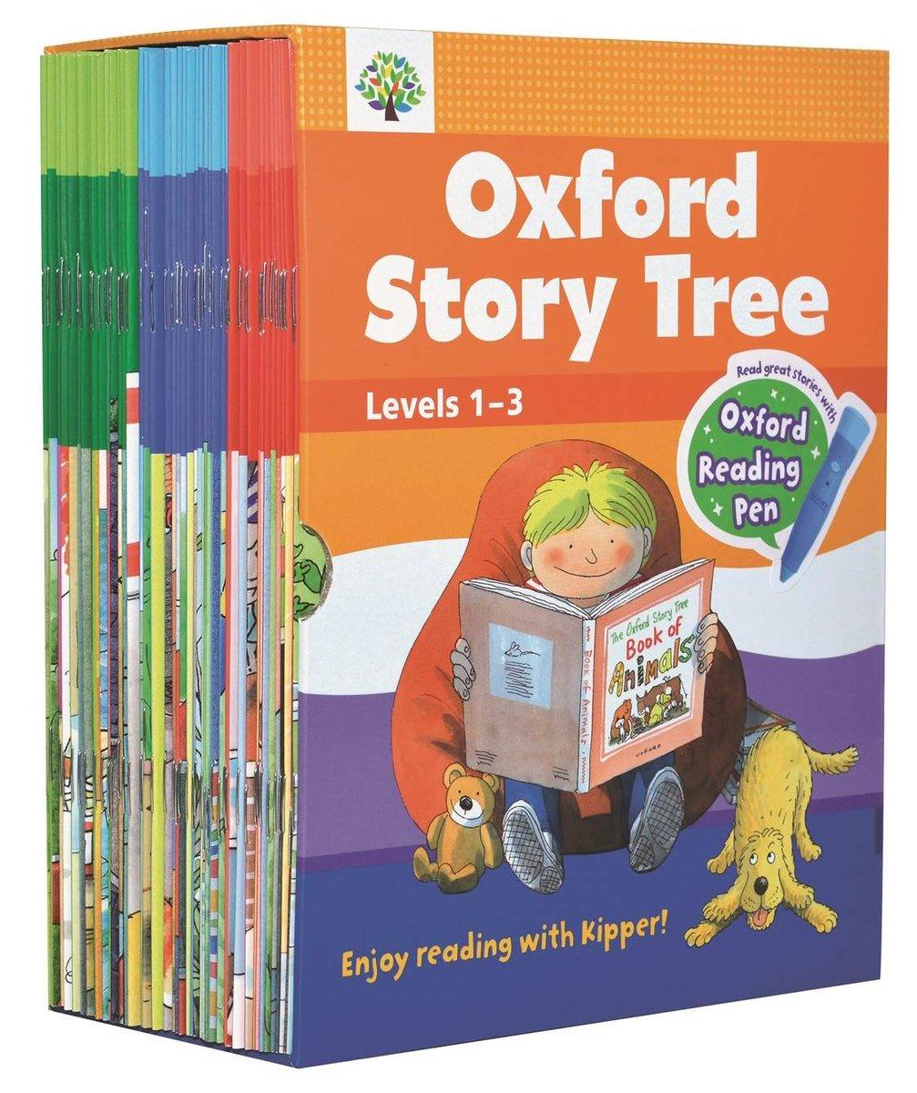 Oxford Story Tree Value Pack 1 (Levels 1-3) - 牛津點讀筆版 Reading Pen Version|52 本故事書