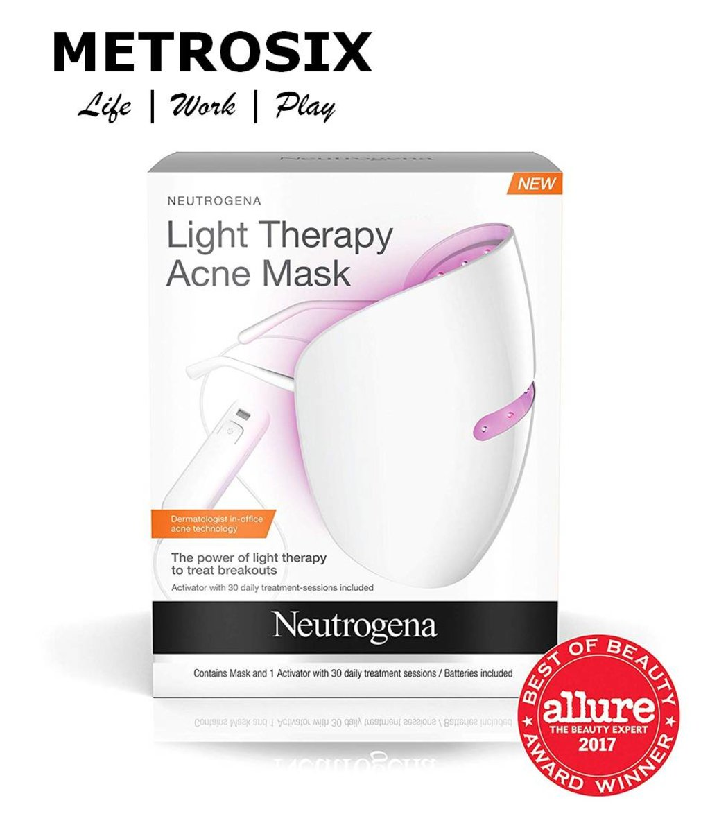 Neutrogena Light Therapy Acne Treatment Face Mask