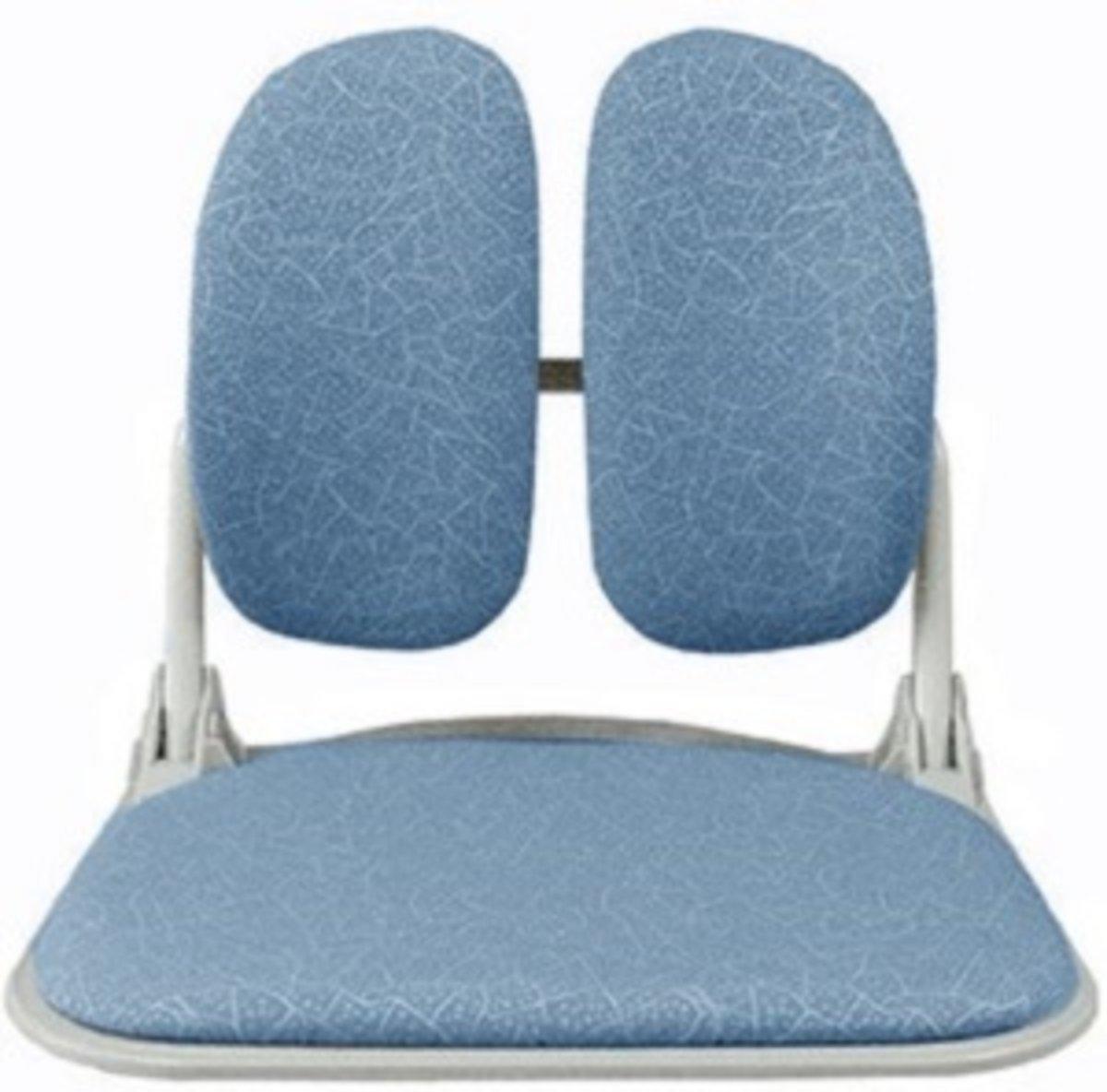 雙背腰墊 雙背和式座墊 DR-920T (藍色)