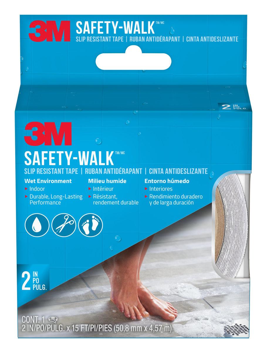 """SafetyWalkTub & Shower Tread 2""""x5yards (Clear)(220C-R2)"""