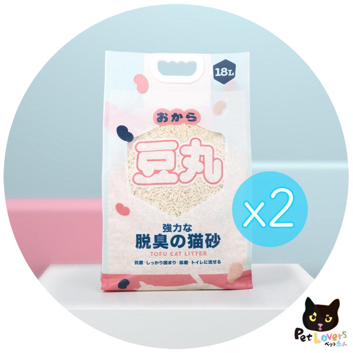 天然原味豆腐砂 18L x 2