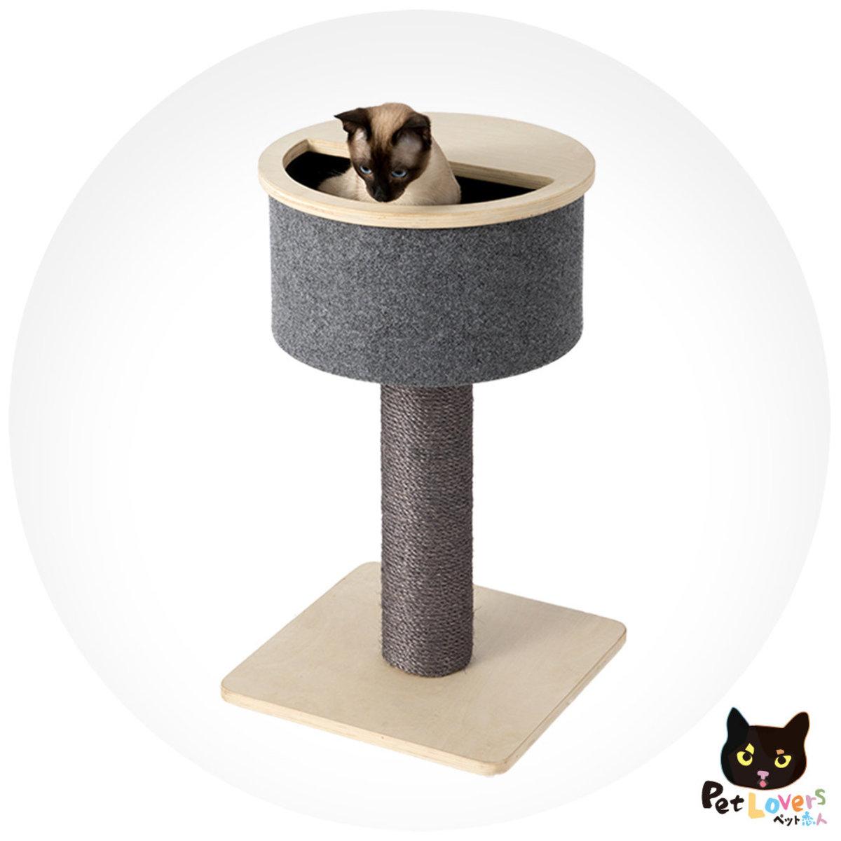 Cat Jumping Platforms - Grey A