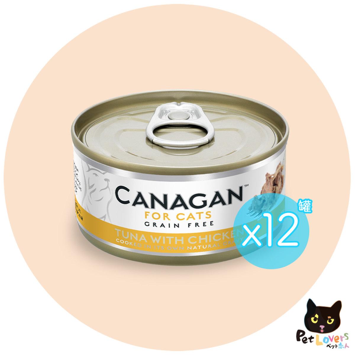 Tuna with Chicken Grain-free Wet food