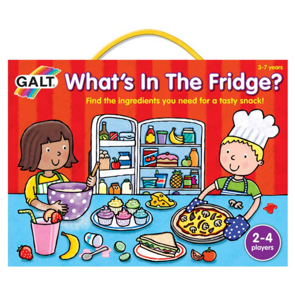 What's In The Fridge (Memory Training Game)