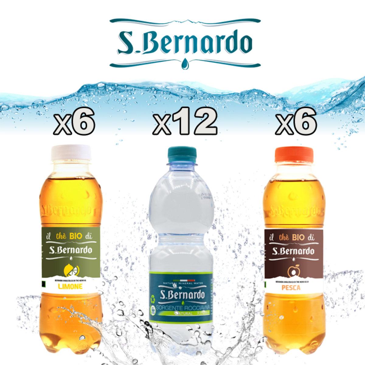 [原箱]聖貝娜多 天然礦泉水 MIX 500ml x 24樽