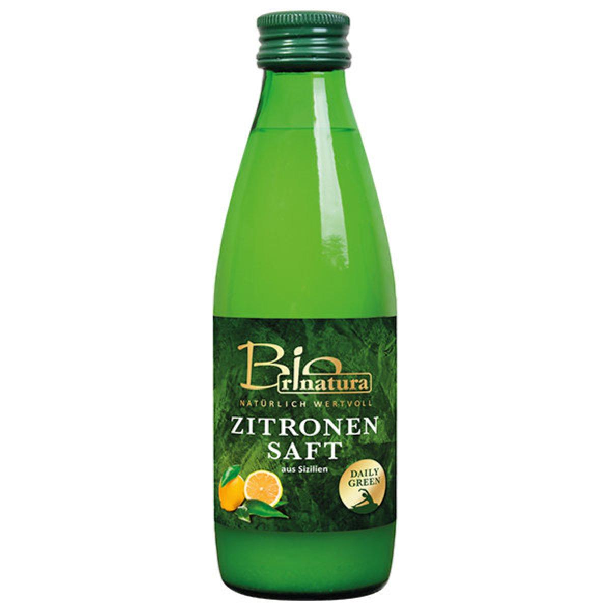 有機100%檸檬汁 250ml