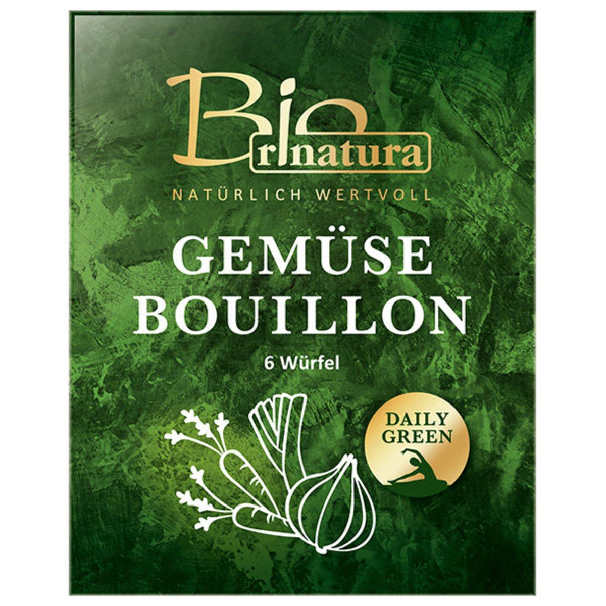 Organic Vegetable Bouillon Cubes (6X10G)