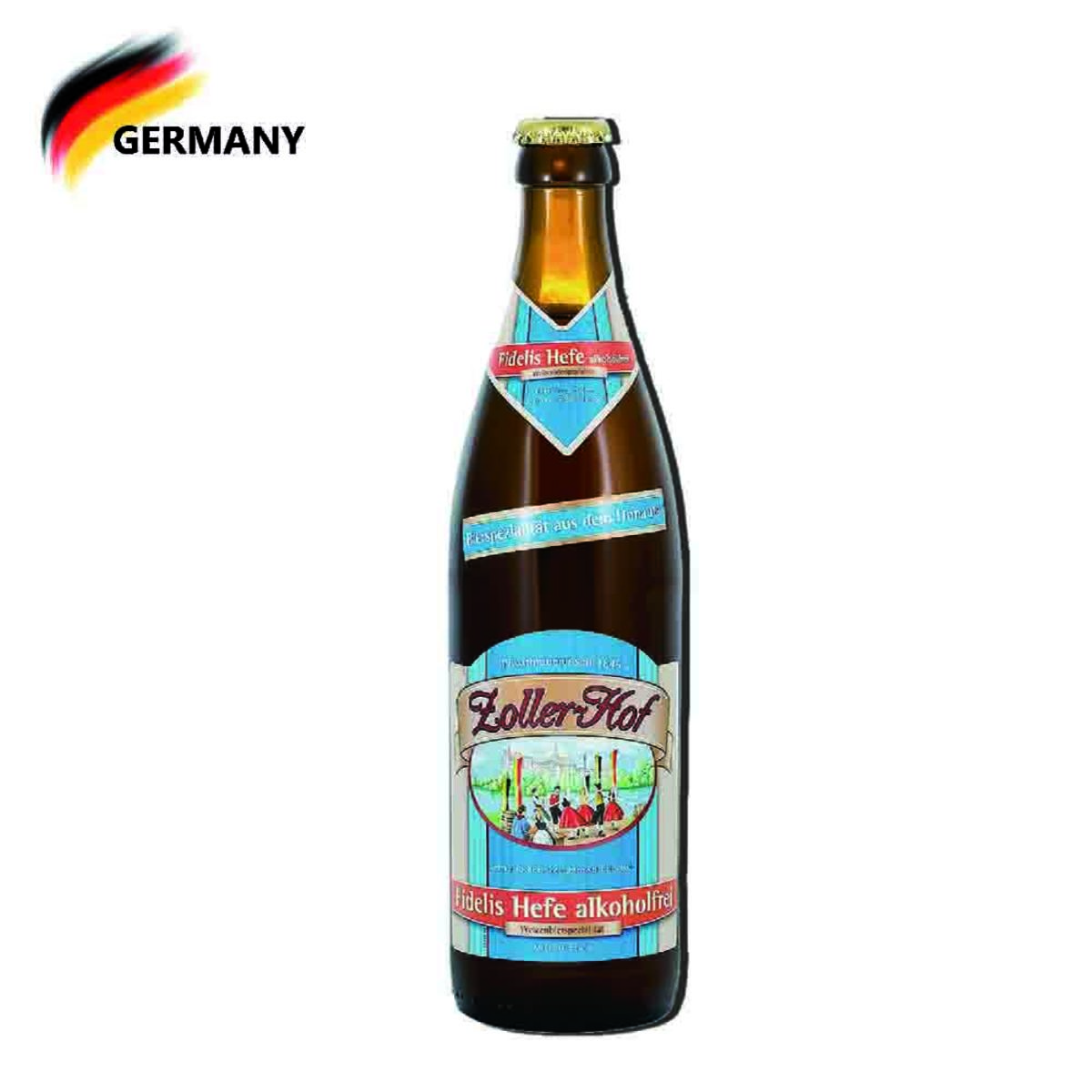Alcohol Free wheat beer 500ml