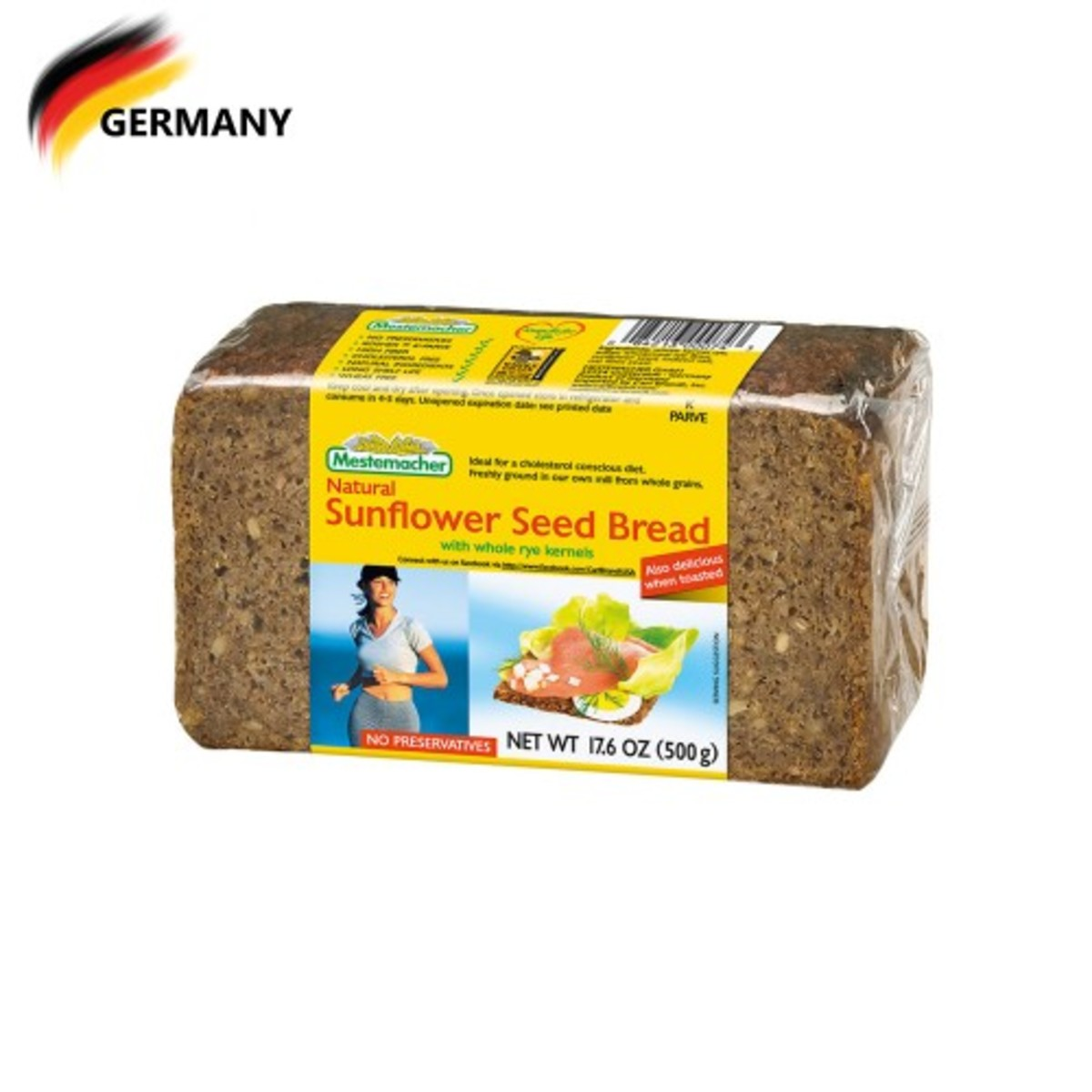 Sunflower Seed Bread 500G (best before date: 15/11/2019)