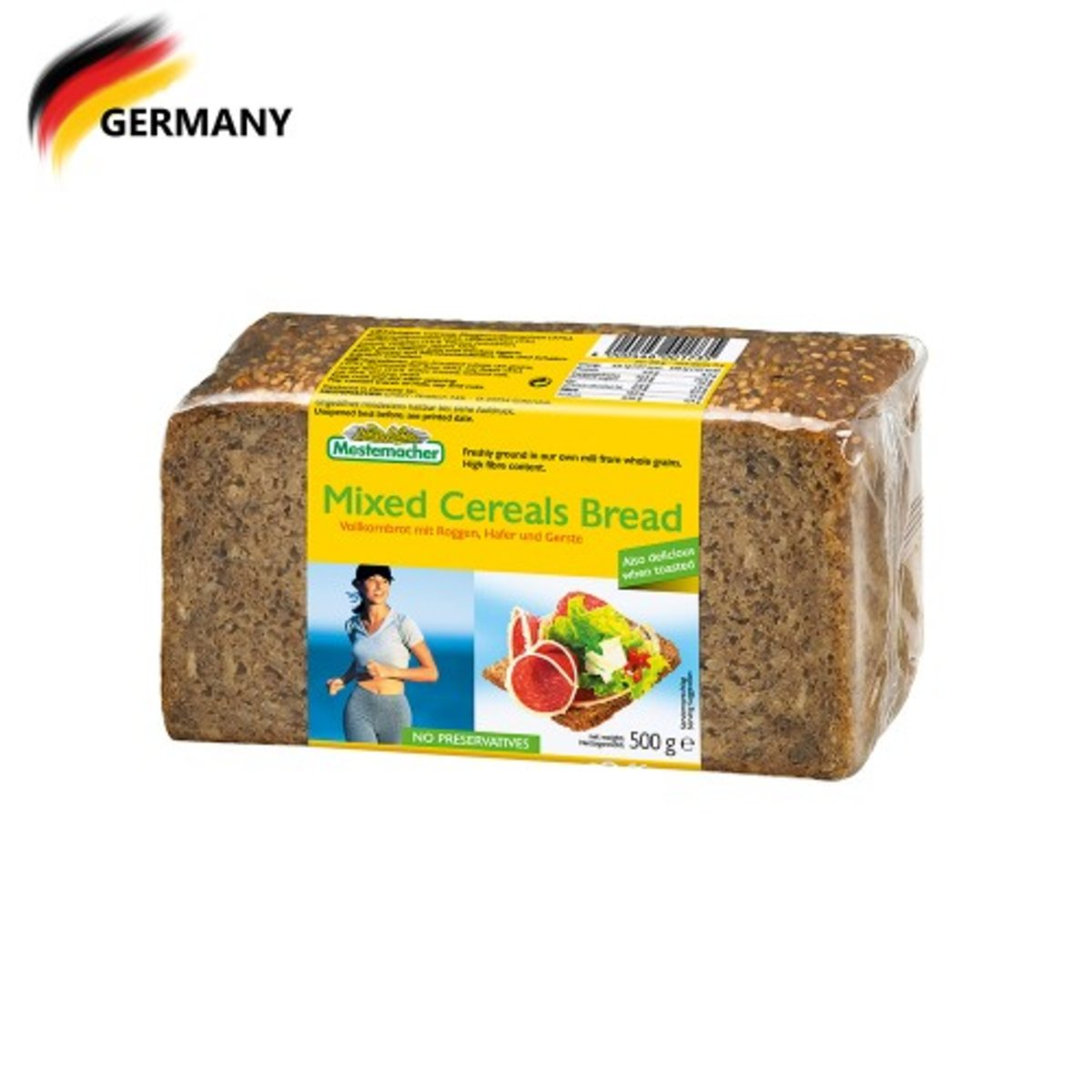 Mixed Cereals Bread 500G (best before date: 01/08/19)