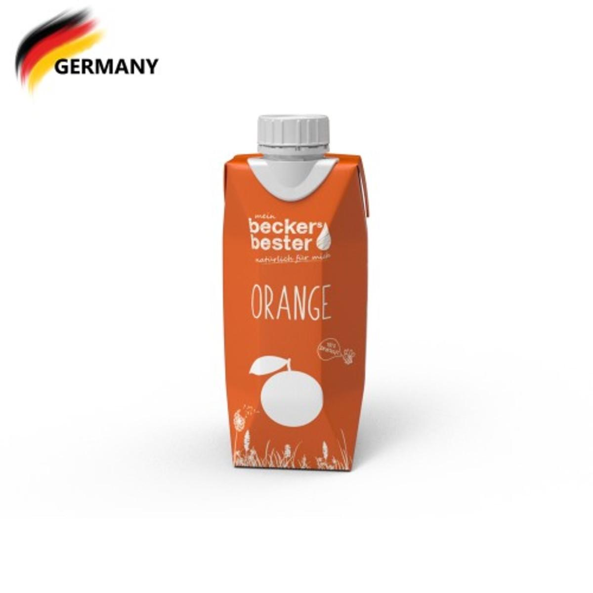 100% Direct Pressed Orange Juice (Non-concentrated) 330ml