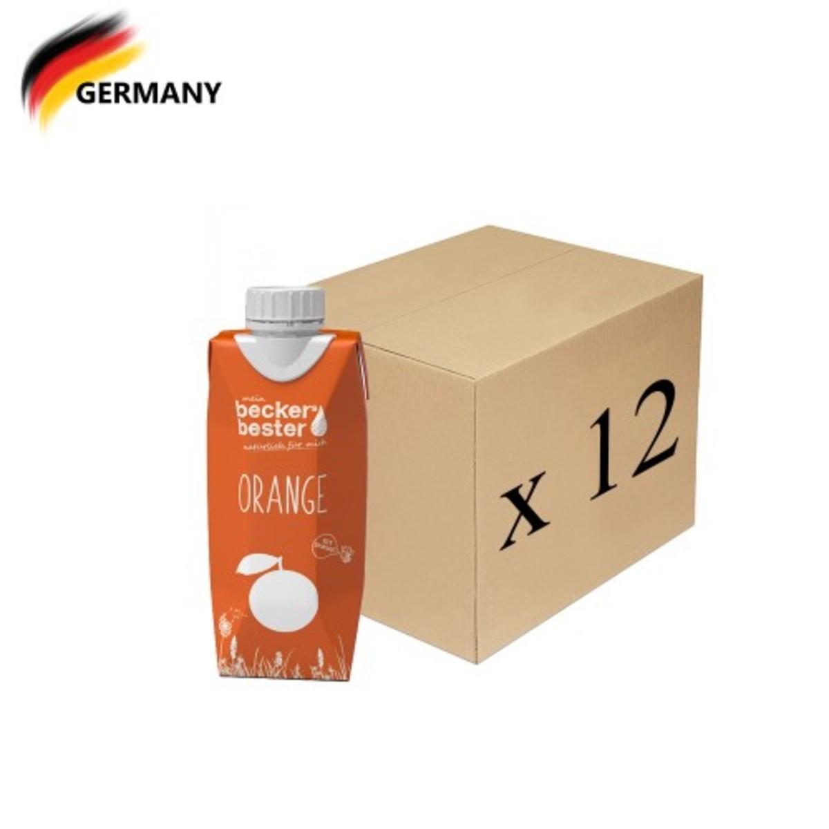 100%直壓非濃縮橙汁 Orange Juice (Non-concentrated) 330ml x12
