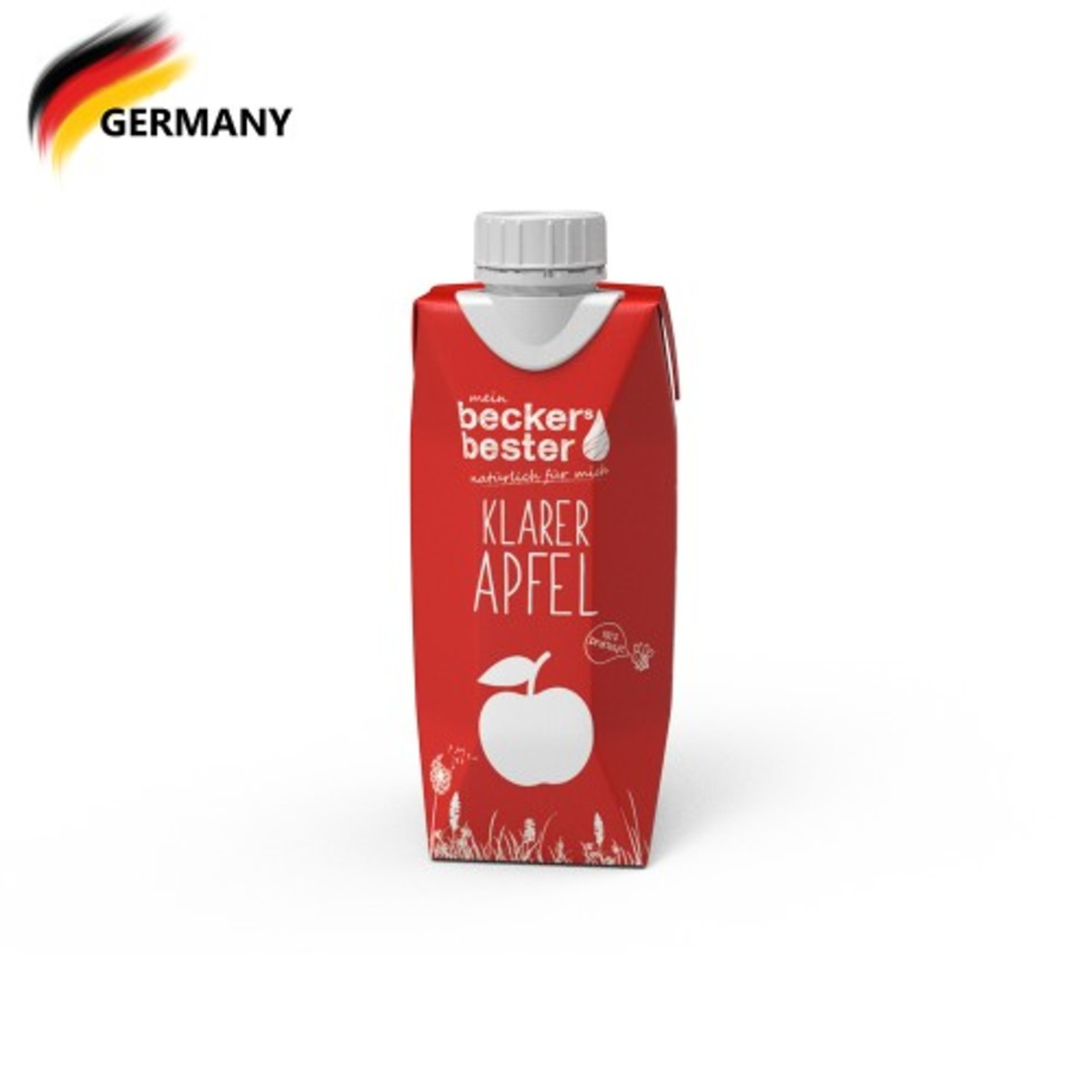 100% Direct Pressed Clear Apple Juice (Non-concentrated) 330ml
