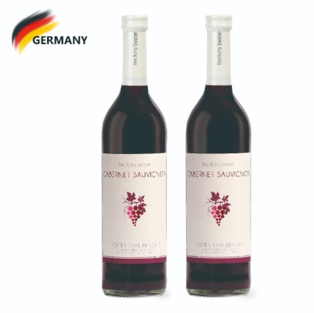 Single Origin Red Grape Juice - Cabernet Sauvignon (Italy - Apulia) 700ml x2