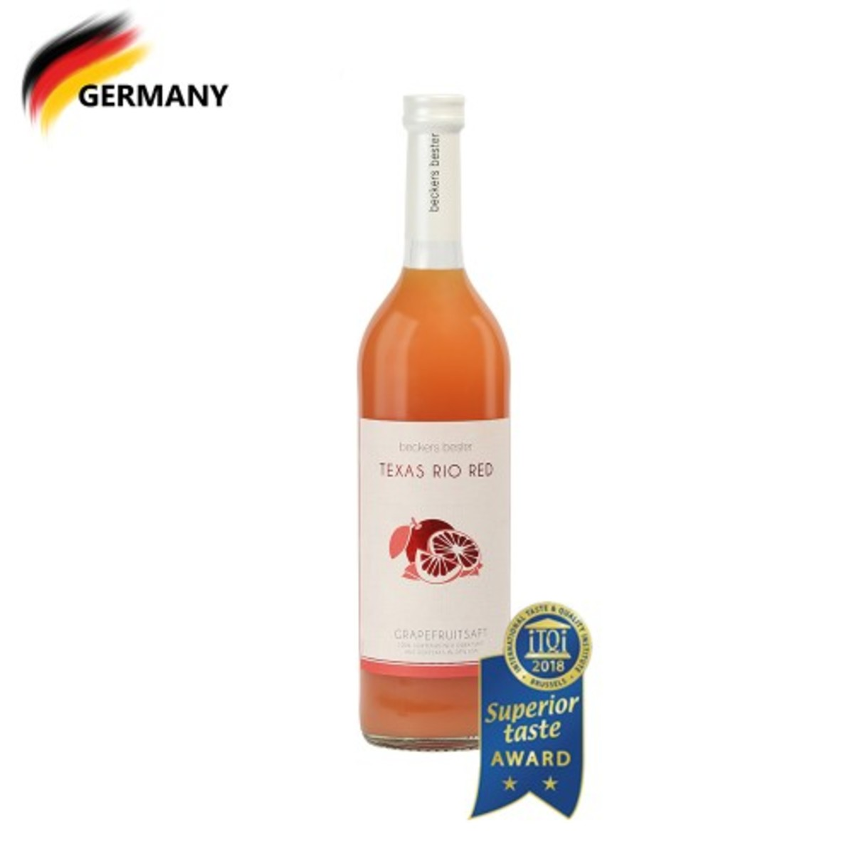 Single Origin Grapefruit Juice - Texas Rio Red (USA - South Texas) 700ml