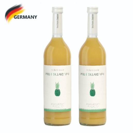 精選哥斯達黎加菠蘿汁 Millie Dillard No II - Pineapple Juice 700ml x2