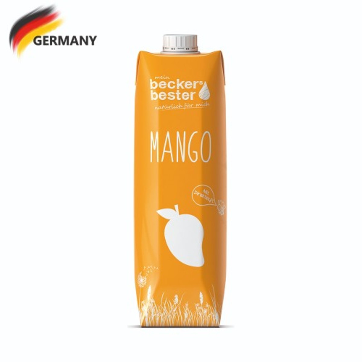 Direct Pressed Mango Nectar (Not-From-Concentrate) 1L