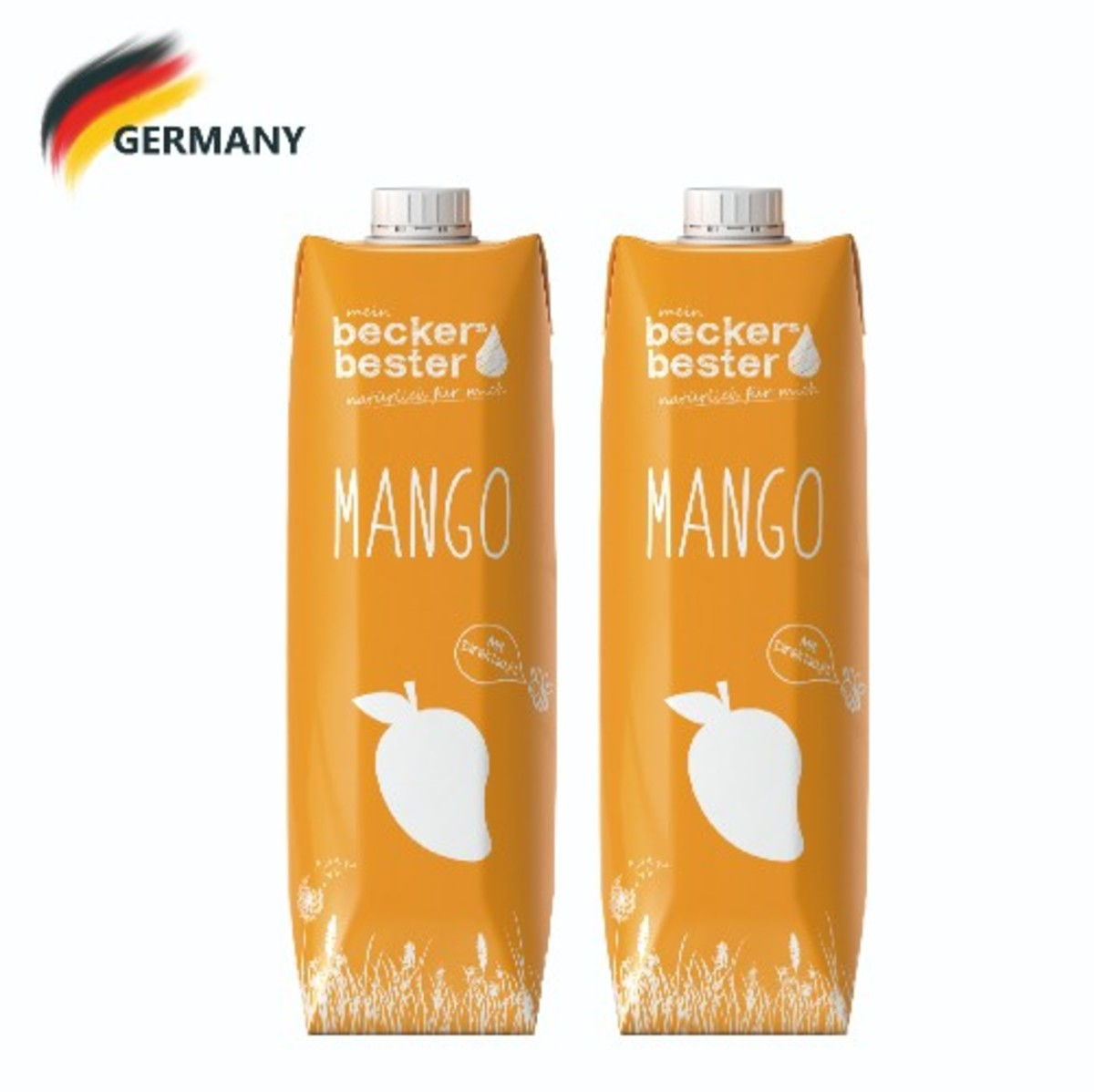 Direct Pressed Mango Nectar (Not-From-Concentrate) 1L x2