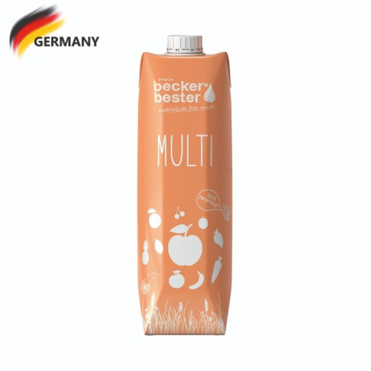 100% Direct Pressed Multi Juice (Not-From-Concentrate) 1L
