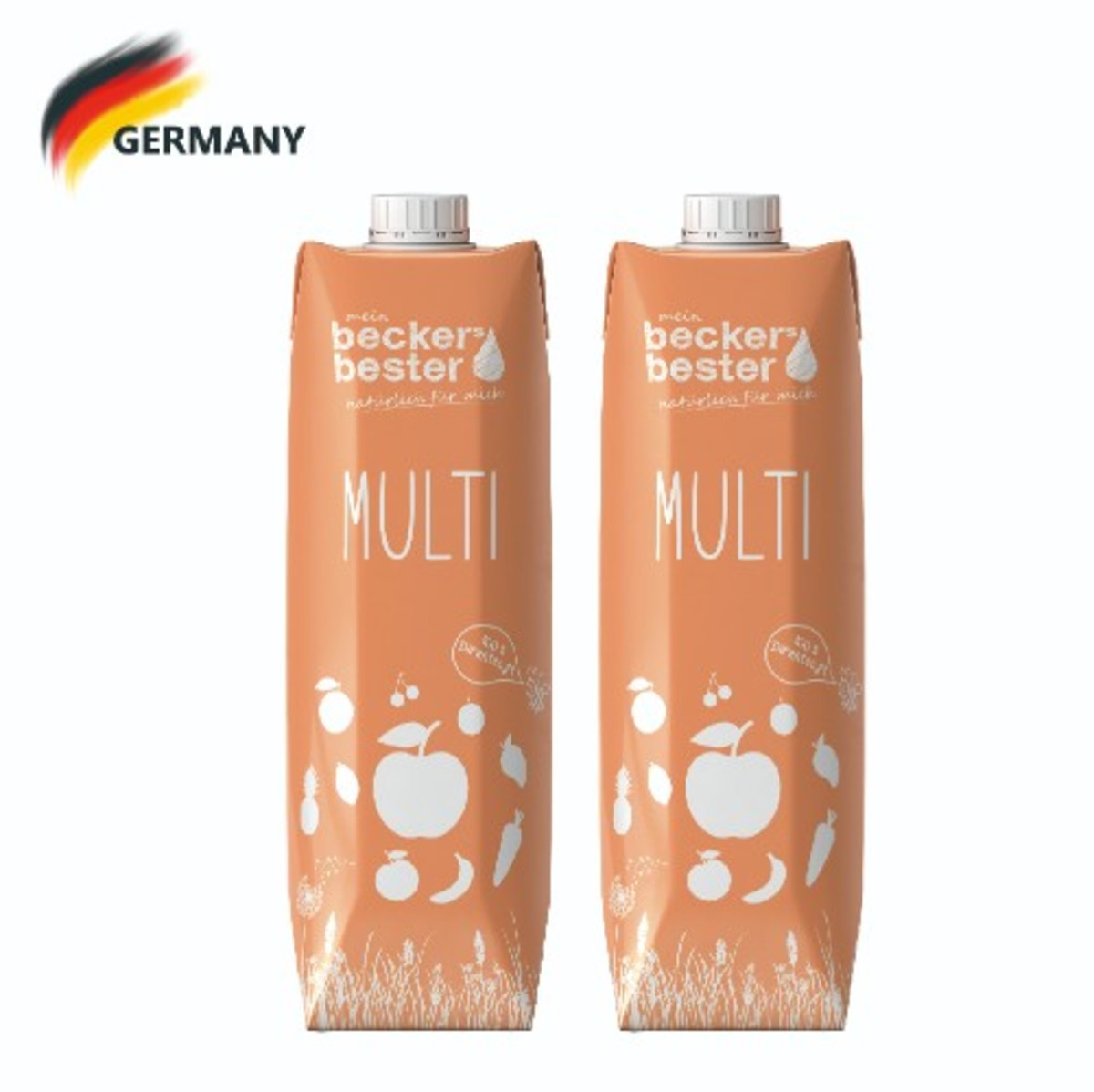 100% Direct Pressed Multi Juice (Not-From-Concentrate) 1L x2