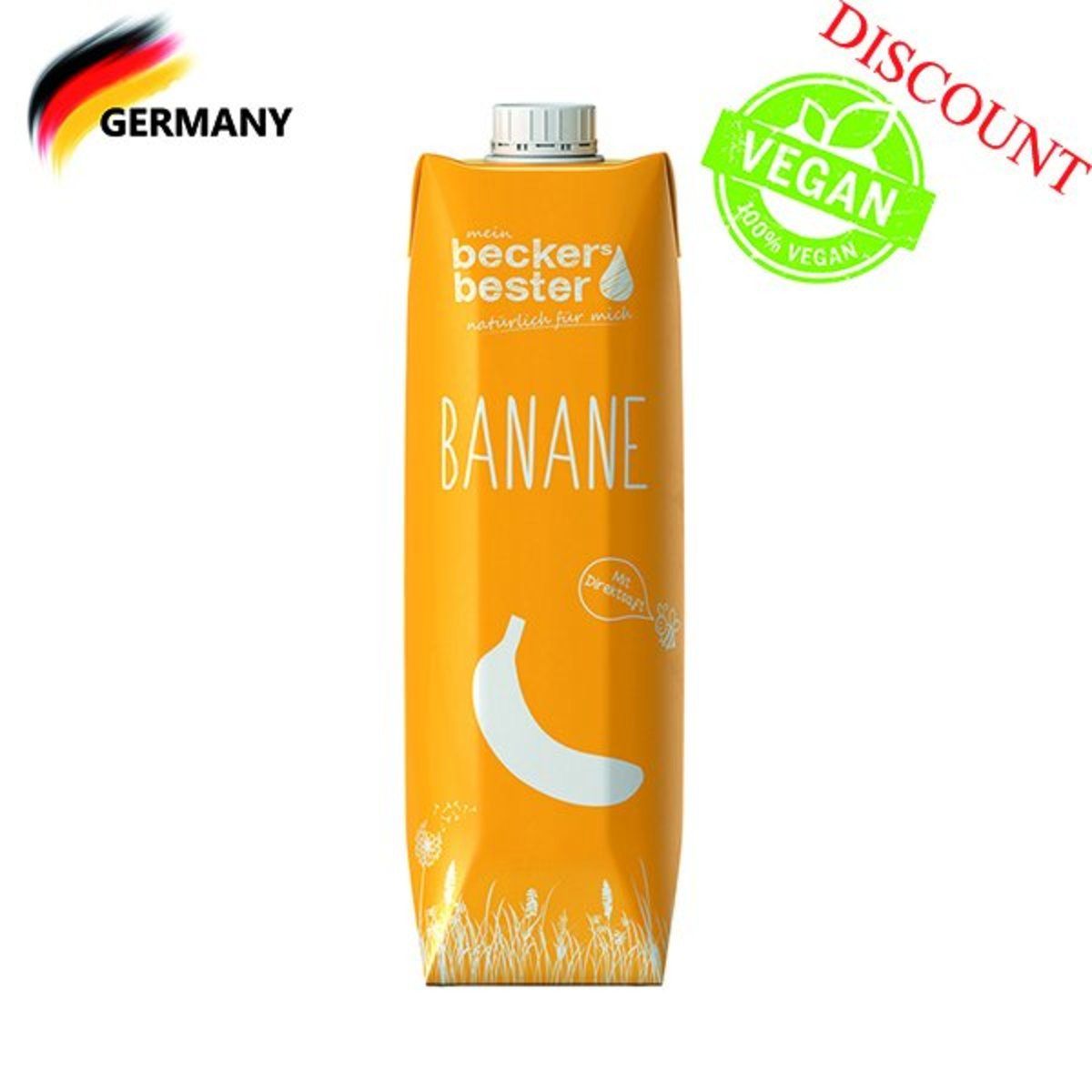 Direct Pressed Banana Nectar (Non-concentrated) 1L (best before date: 16/11/2019)