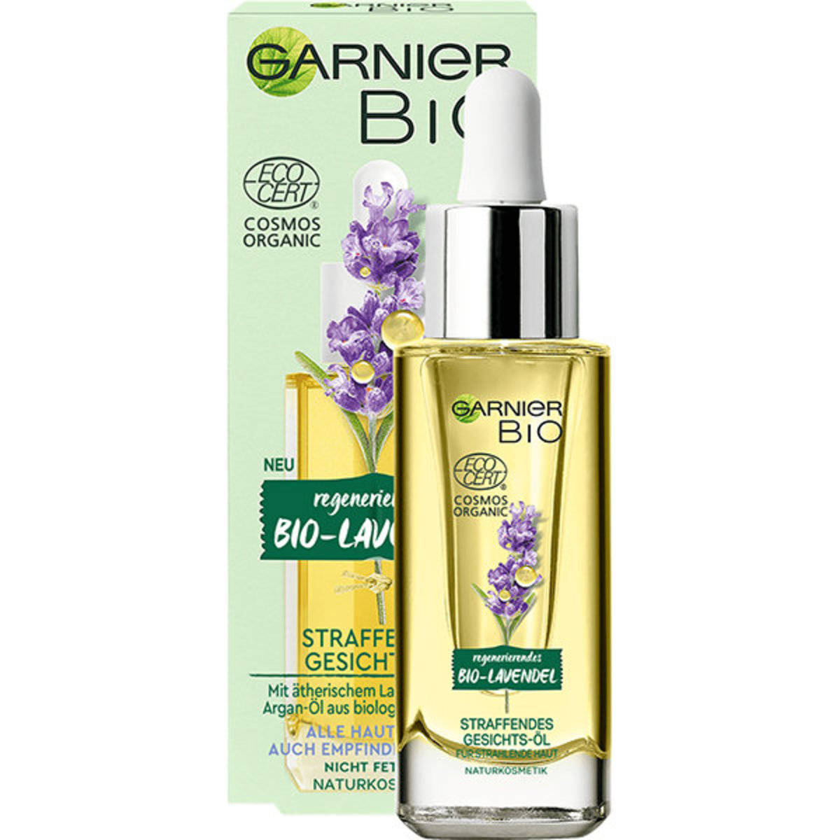 Organic Lavender Soothing & Glow Facial Oil - 30ml (Parallel Import)
