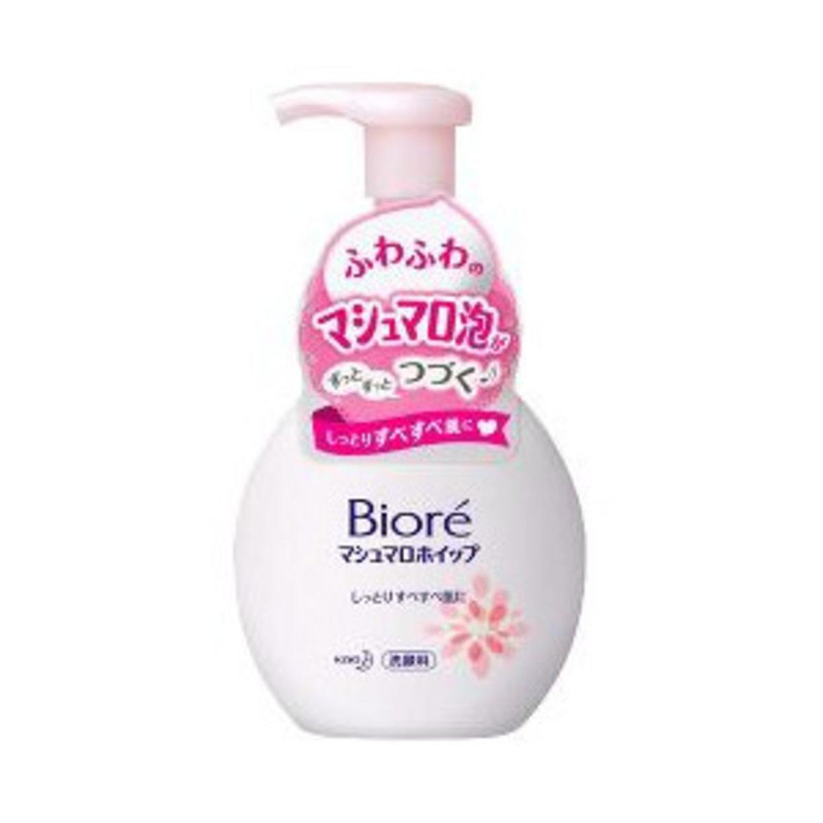 Biore bubble face moist wash(Pink) 150ml