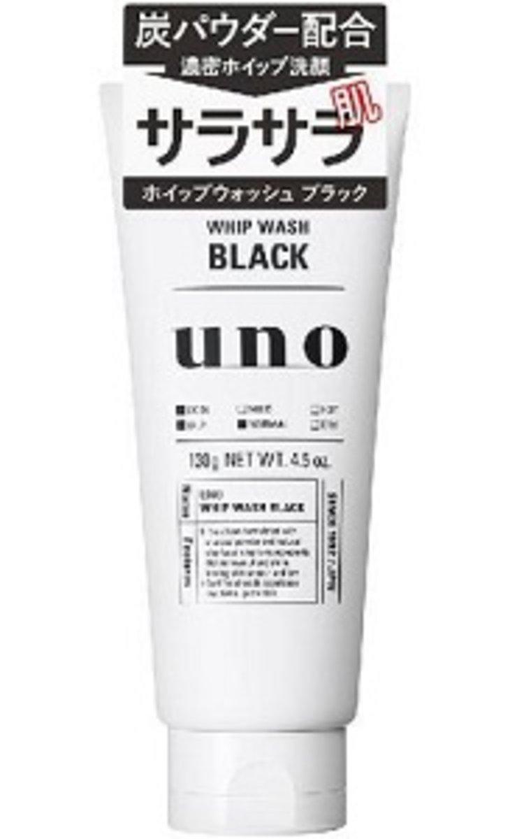 Shiseido Japan UNO Whip Wash Face Men's Wash 130g(Black)