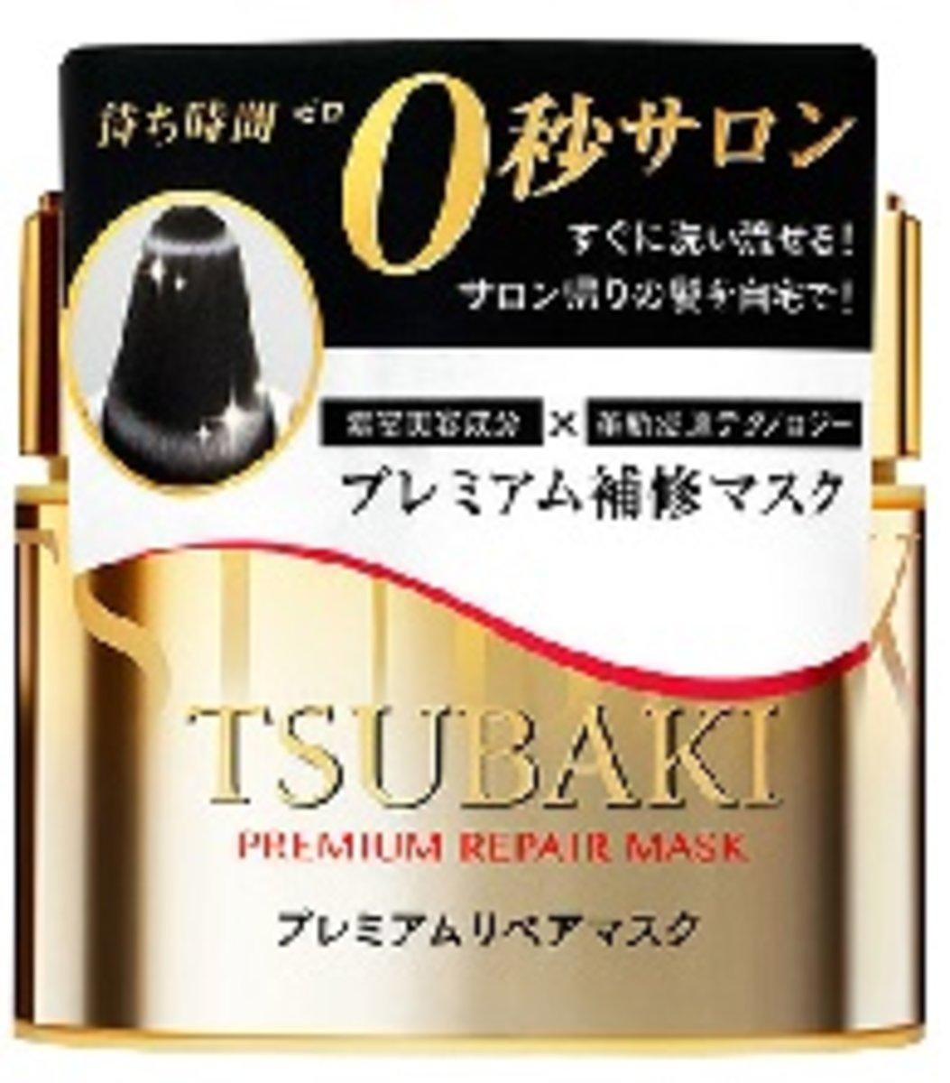 日本版 資生堂 TSUBAKI 山茶高級修護髮膜 (180g/6oz.) (平行進口)