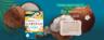日本 MANDOM 椰子油 嫩肌保濕面膜(4片裝)