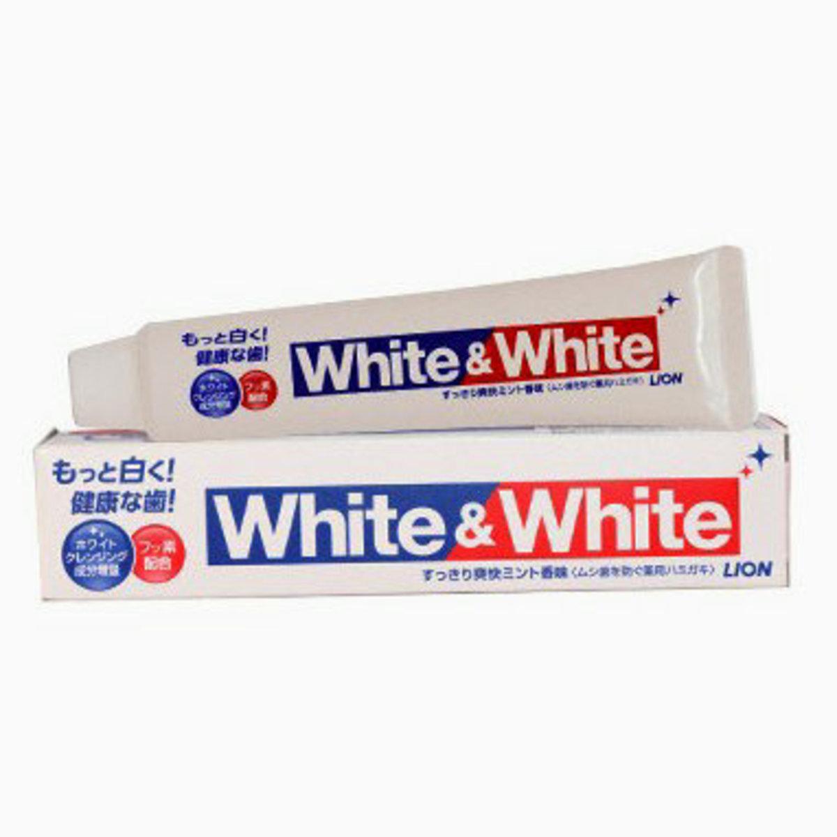 Lion White & White Toothpaste (peppermint) 150g