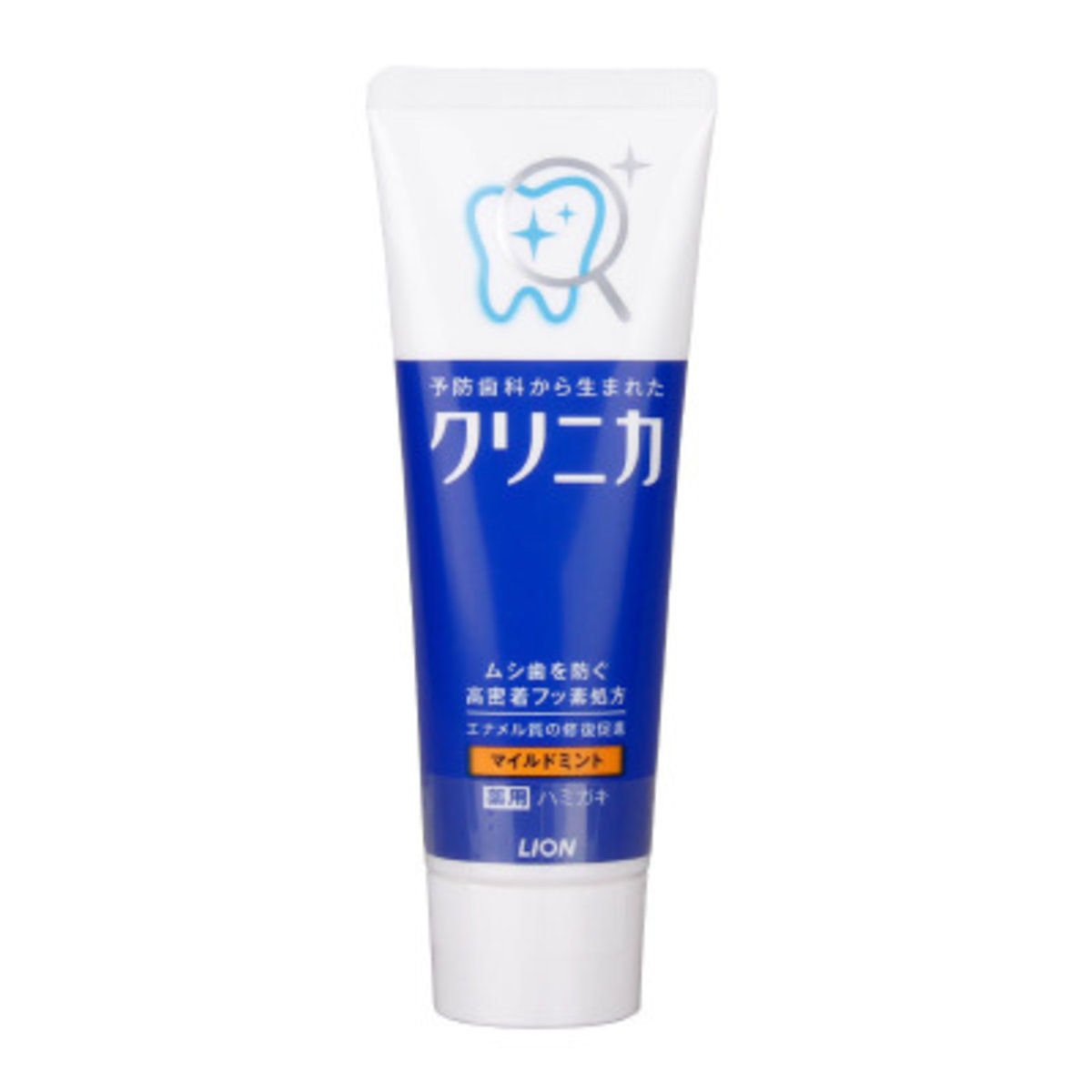 日本版 獅王潔淨 柔和薄荷牙膏130g  (孕婦可用)(平行進口)